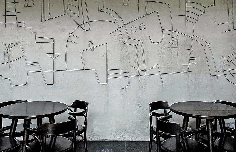 Java+ IKSOI Design Studio CC Vishal Mehta concrete wall details