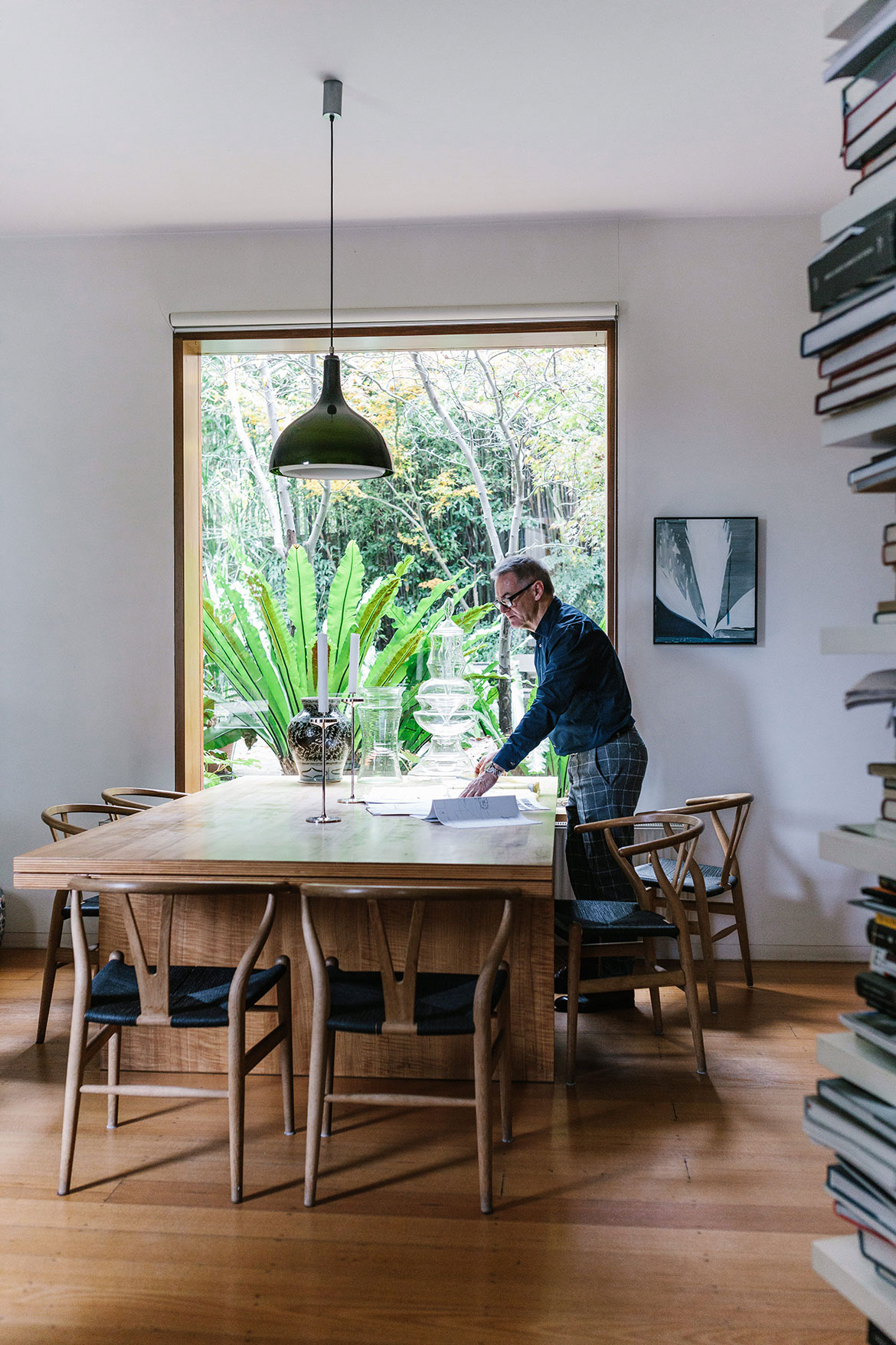 John Wardle Habitus photography by Marnie Hawson dining room