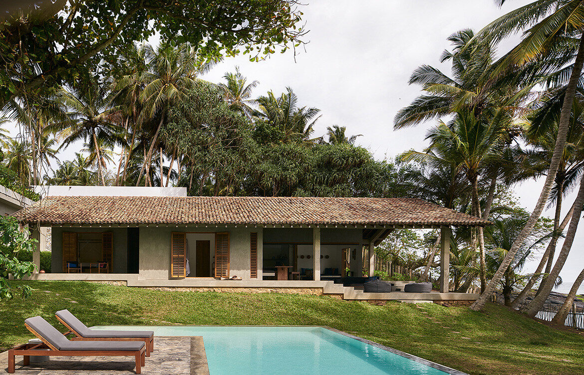 K House Resort Norm Architects Aim Architecture pool back of the house