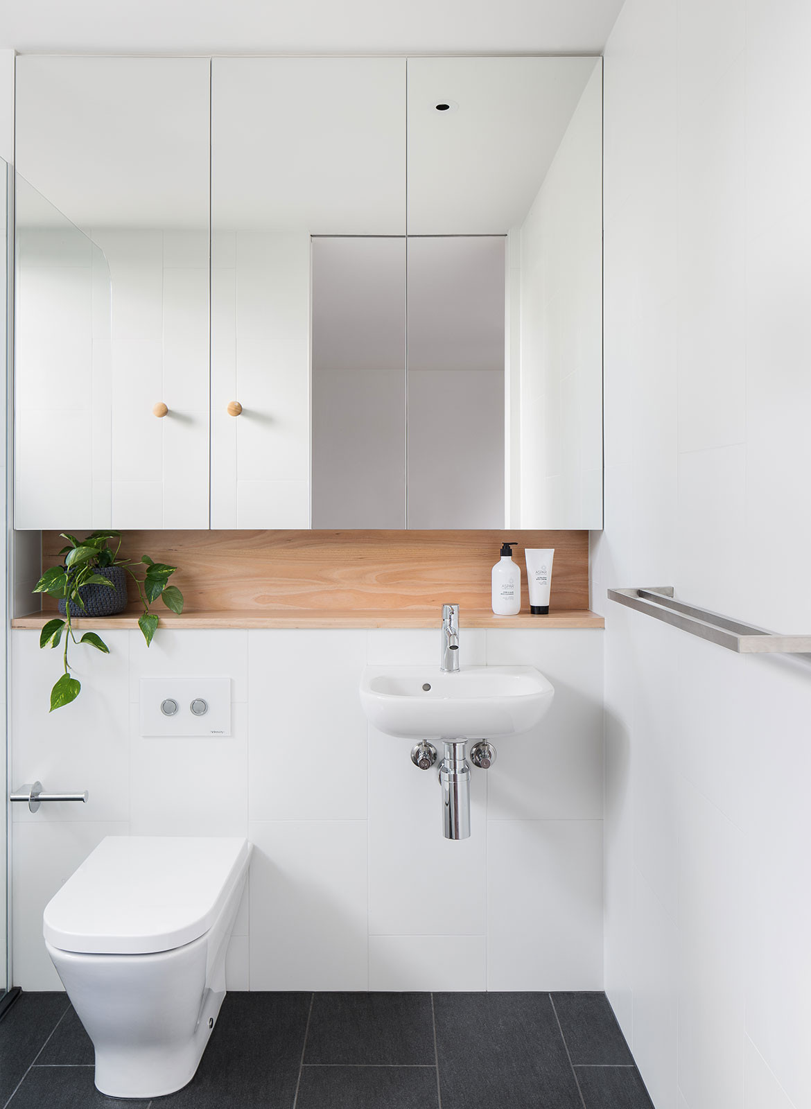 Kew Villa McManus Lew Architects CC Emily Barlett | Habitus Living bathroom