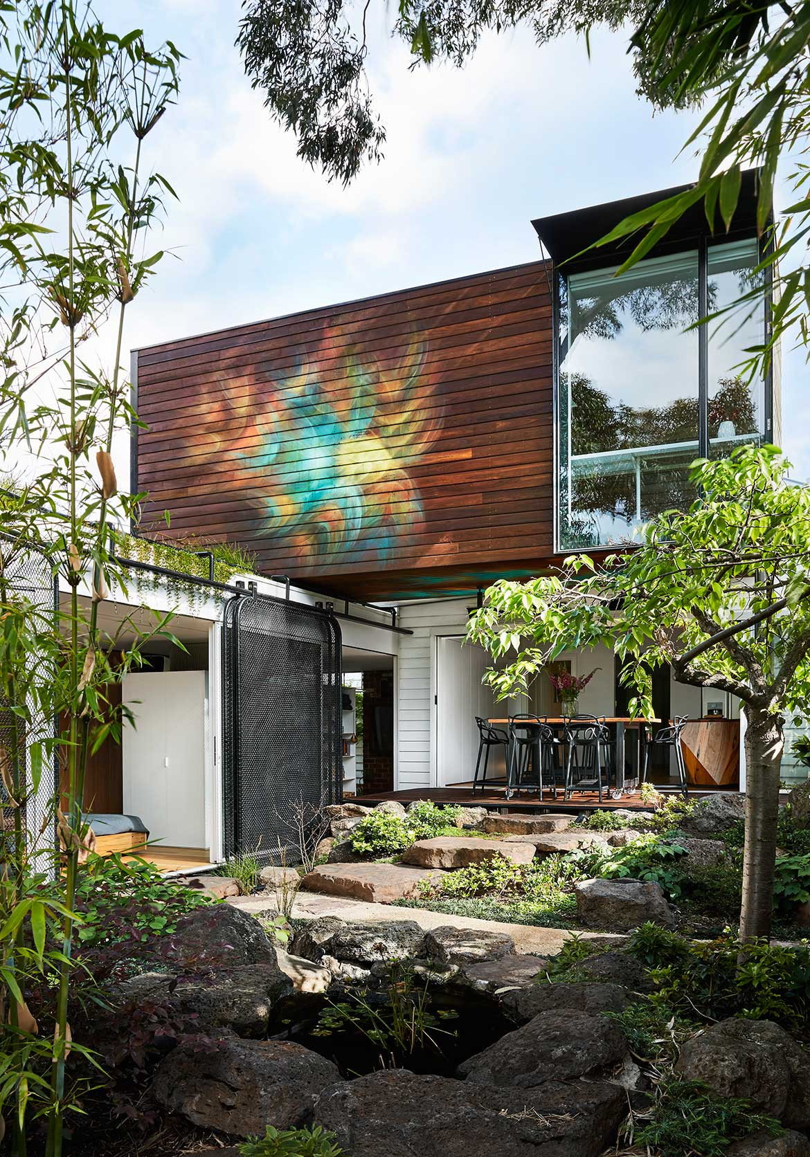 Kiah House Austin Maynard Architects cc Tess Kelly backyard