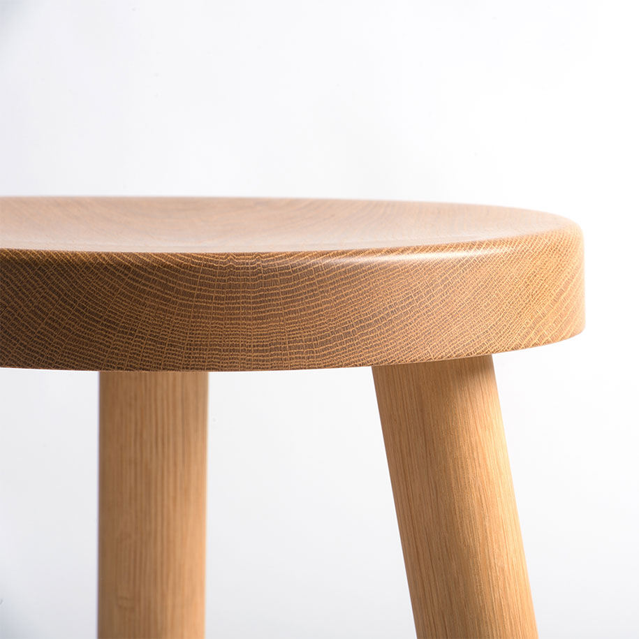 Kin-low-stool-detail