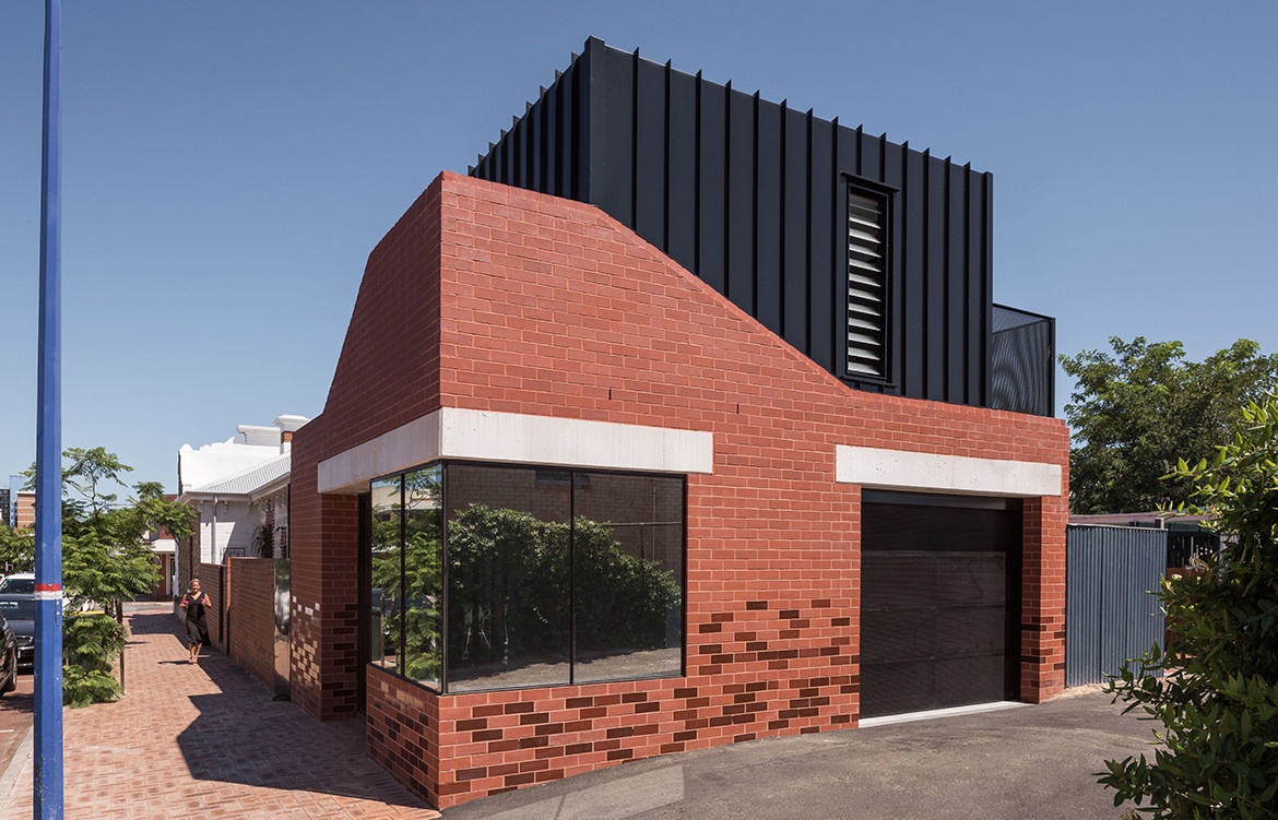 King George House by Robeson Architects | contemporary brick house | residential architecture | renovated heritage house
