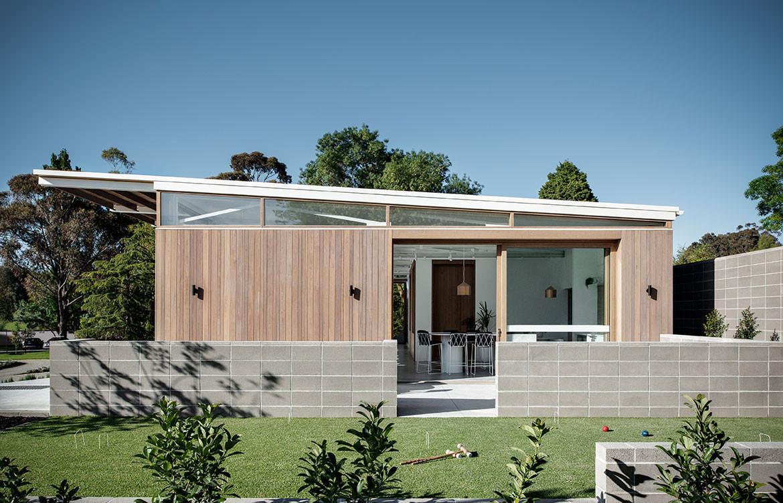Kinley Cricket Club Winter Architecture Zunica CC Nicole England exterior