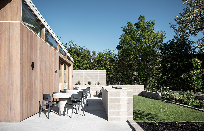 Kinley Cricket Club Winter Architecture Zunica CC Nicole England outdoor area