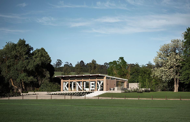 Kinley Cricket Club Winter Architecture Zunica CC Nicole England pavilion