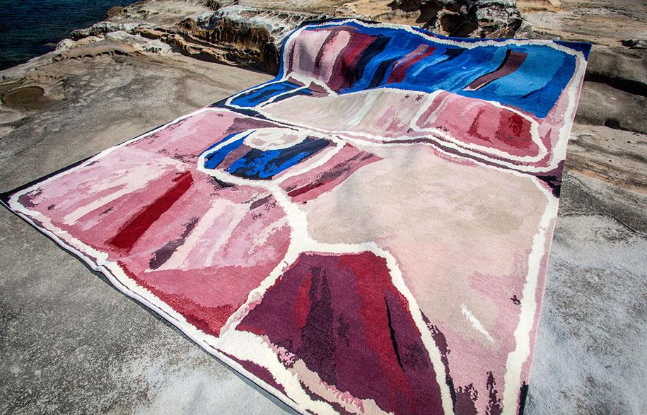 Yulparitja Aboriginal Art Meets Designer Rugs Habitus Living