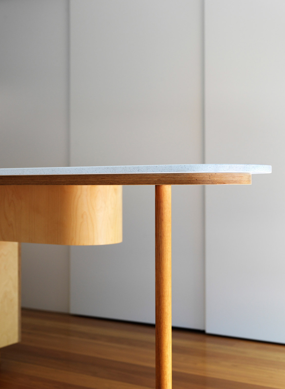 Kondo Condo Downie North CC Felipe Neves kitchen bench details material structure