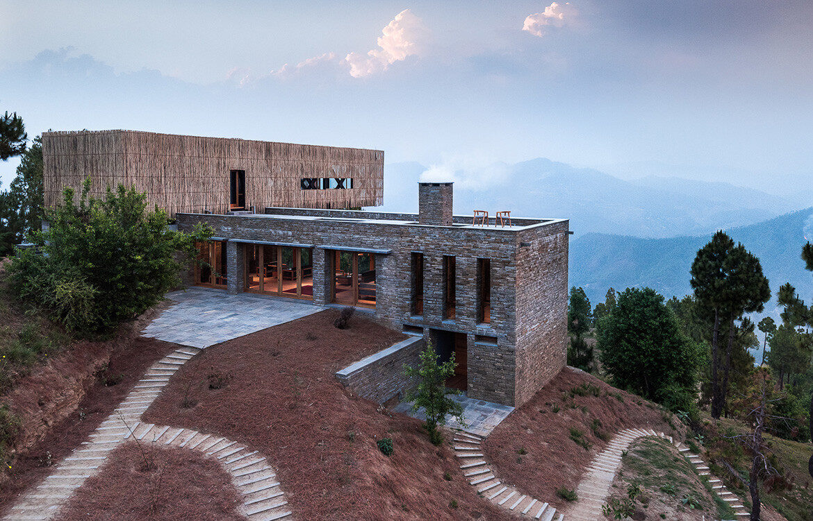Kumaon Zowa Architects India cc Akshay Sharma exterior