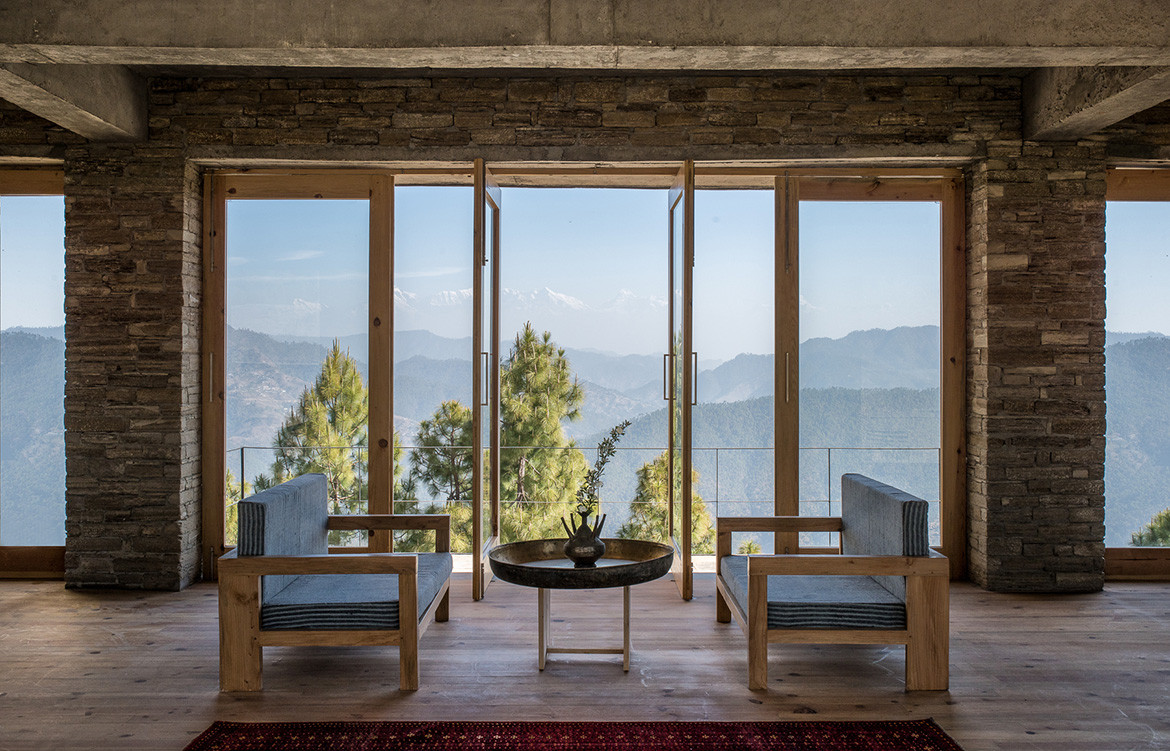 Kumaon Zowa Architects India cc Akshay Sharma lounge