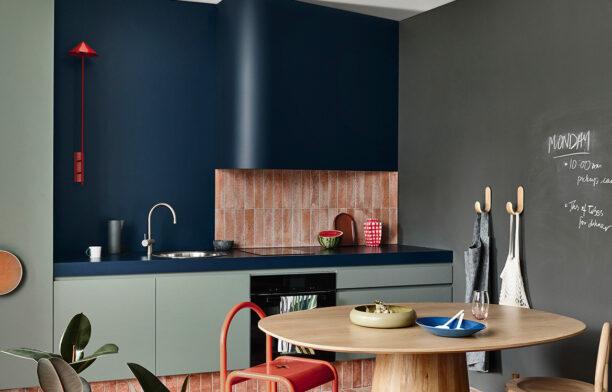 studio kitchen full view