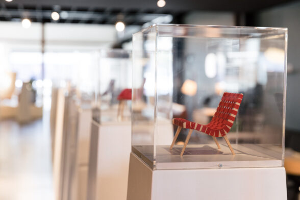 Living Edge Vitra 100 Miniatures Exhibition