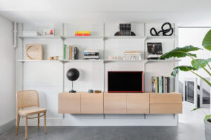 Continental Shelving Unit Living Room