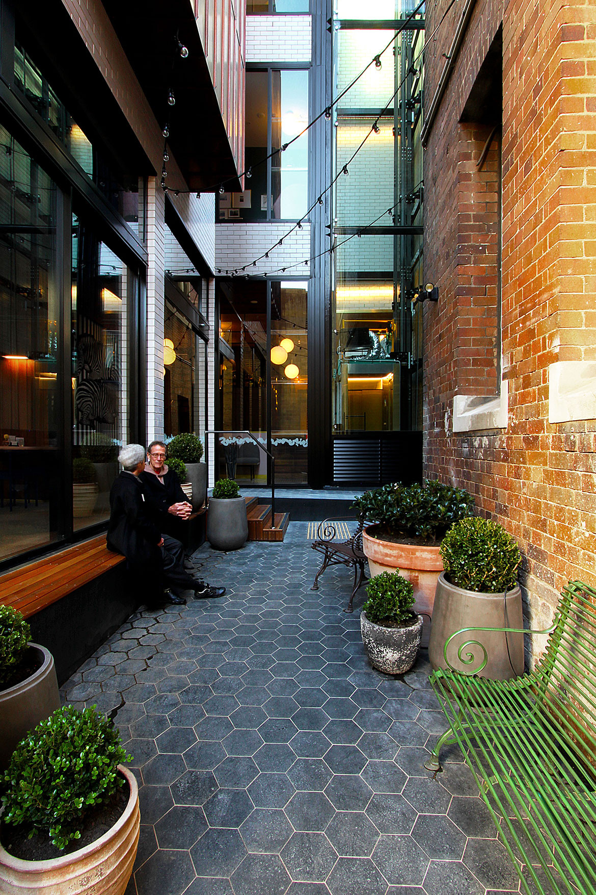 Little Albion Guest House cc Terence Yong courtyard