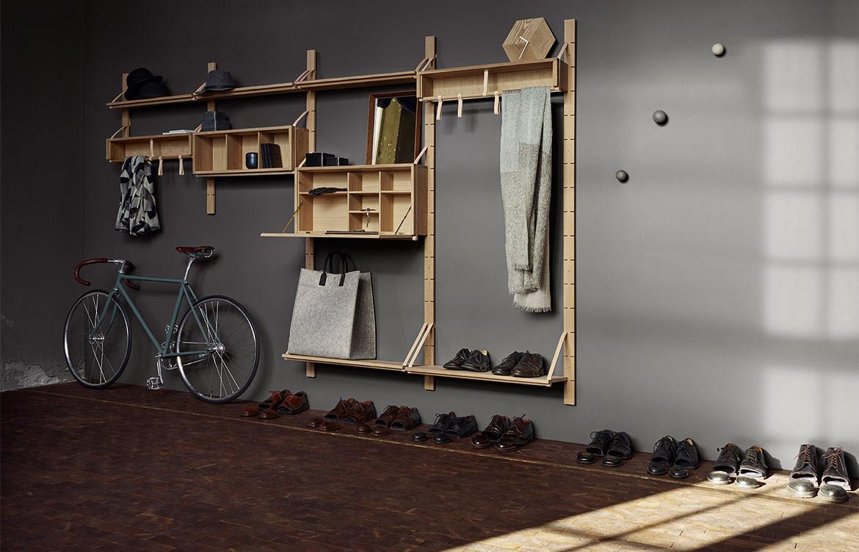 Storage axis storage