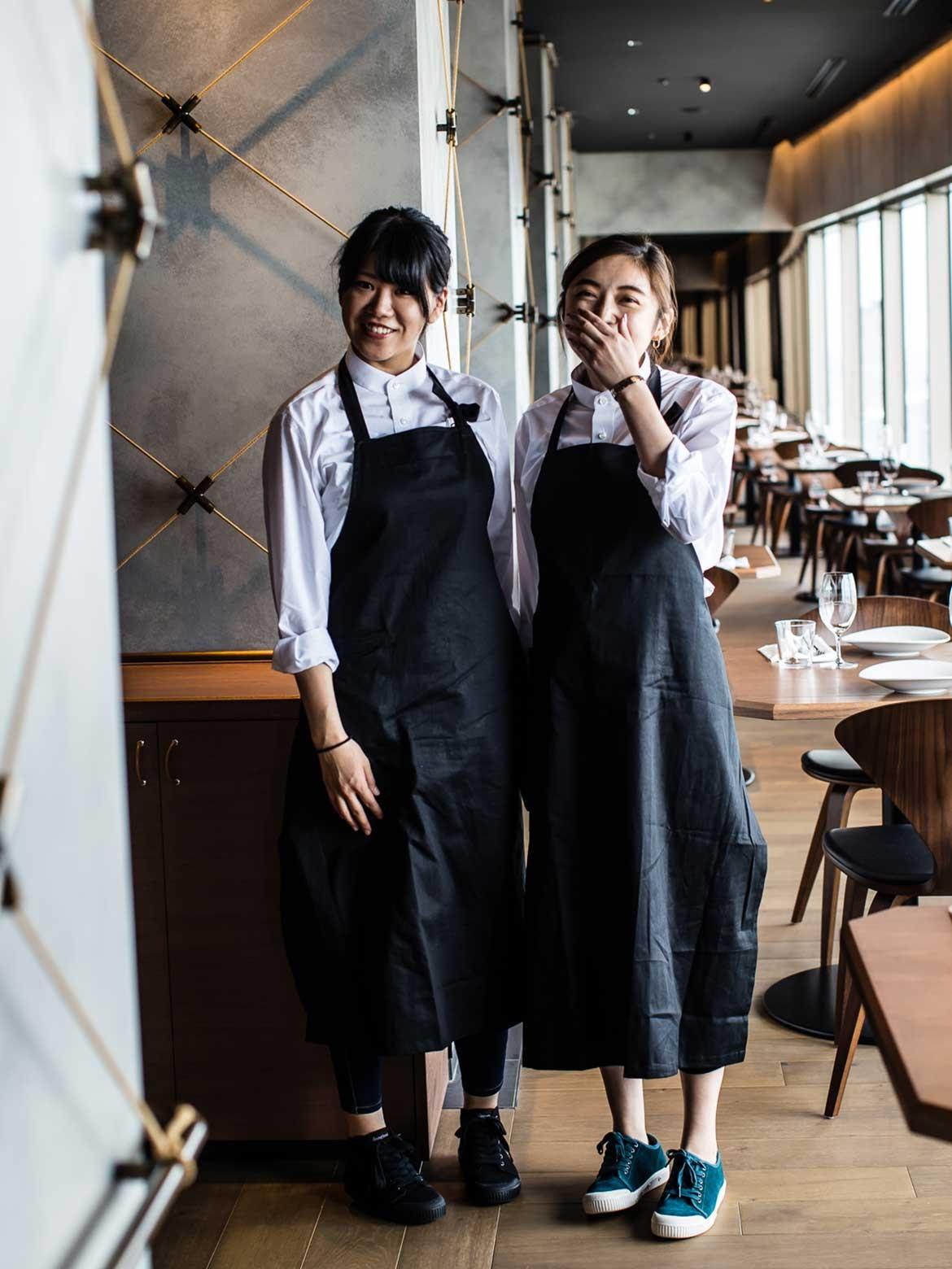 Luchetti Krelle Longrain Tokyo staff