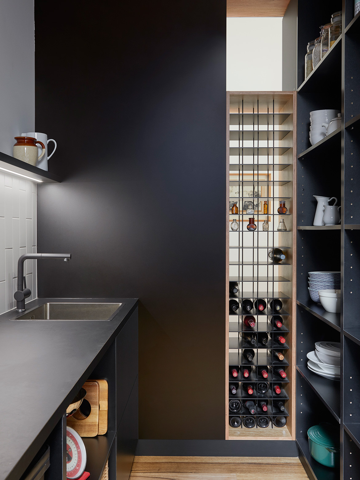 How Architecture Can Improve Connections | walk-in pantry