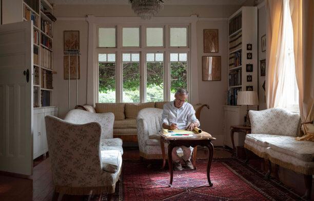 Luigi Rosselli Residential Design CC Nicholas Watt living room