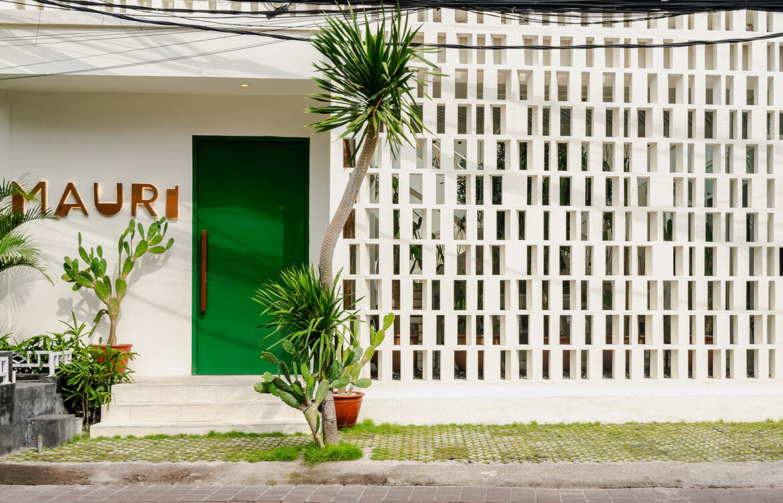 MAURI Seminyak Bali Ushers By Design facade details