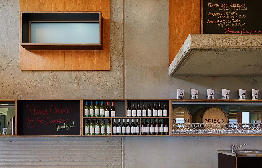 Green Door Winery Cellar | Habitus Living