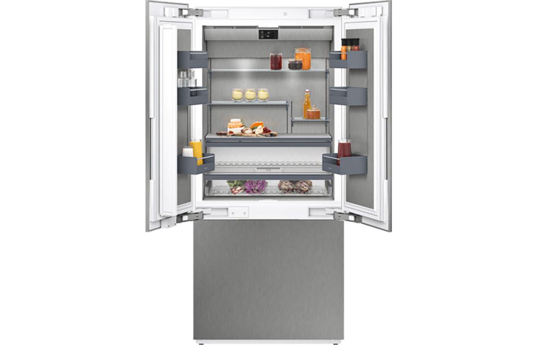 French-Door Fridge Freezer Open