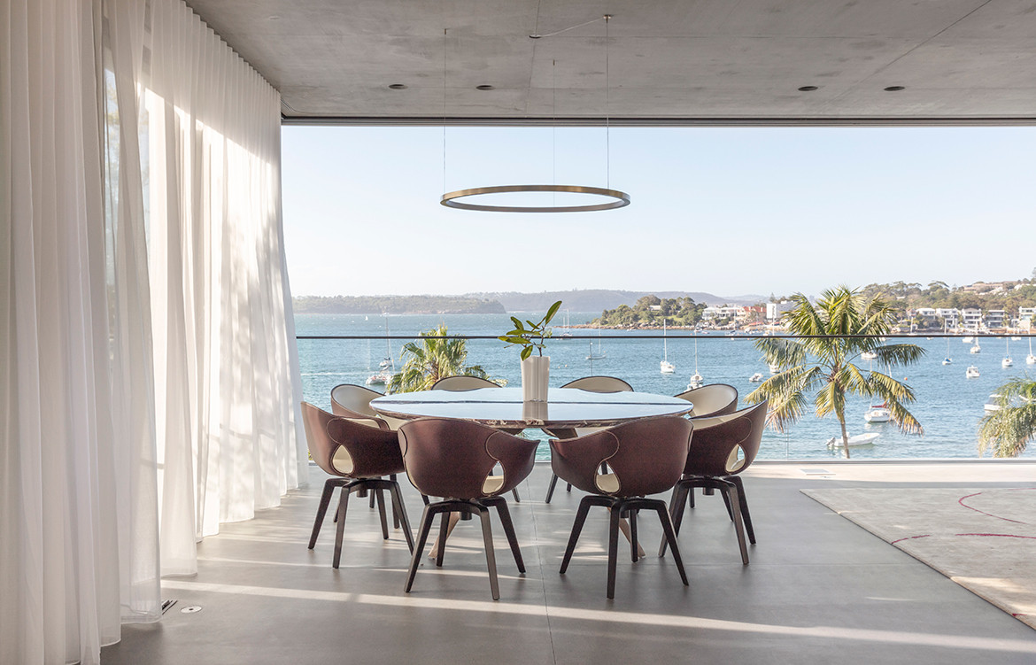 Kutti Beach House Matthew Woodward CC Murray Fredericks dining lighting detail