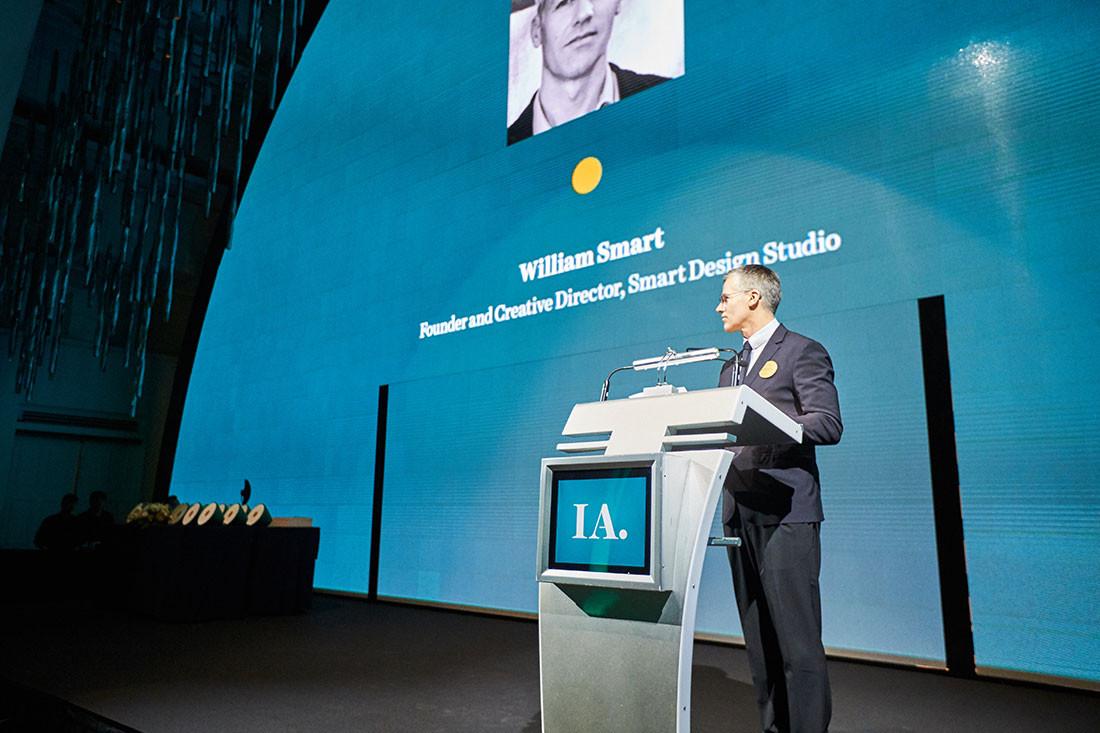 William Smart, the 2017 INDE.Award Luminary and 2018 judge.
