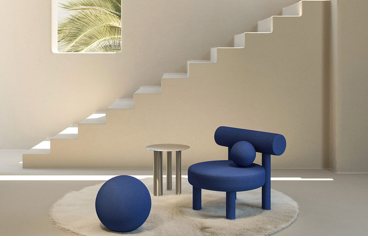 Gropius armchair by Noom as presented at Maison et Objet 2020