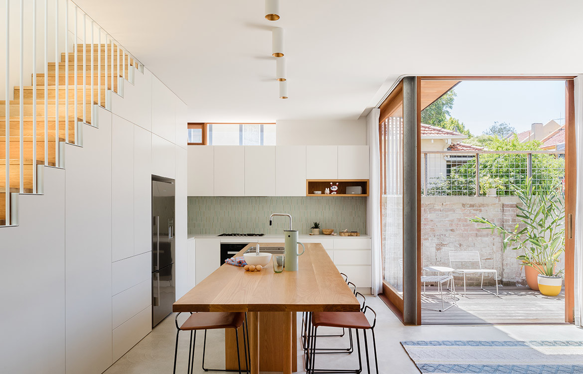 Machiya House Downie North CC Katherine Lu Kitchen Designs