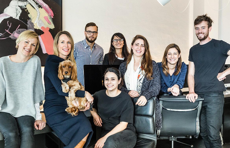 Madeleine Blanchfield Architects team