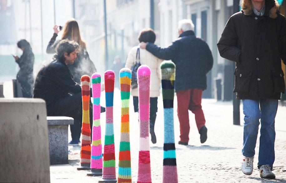 Yarn Bombing - Habitus Living