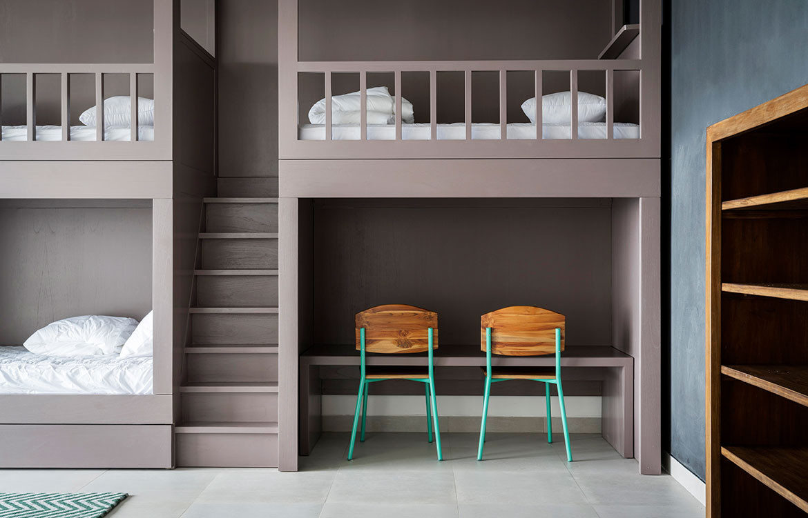 Maleo Residence Mitchel Squires Associates bunk beds and study