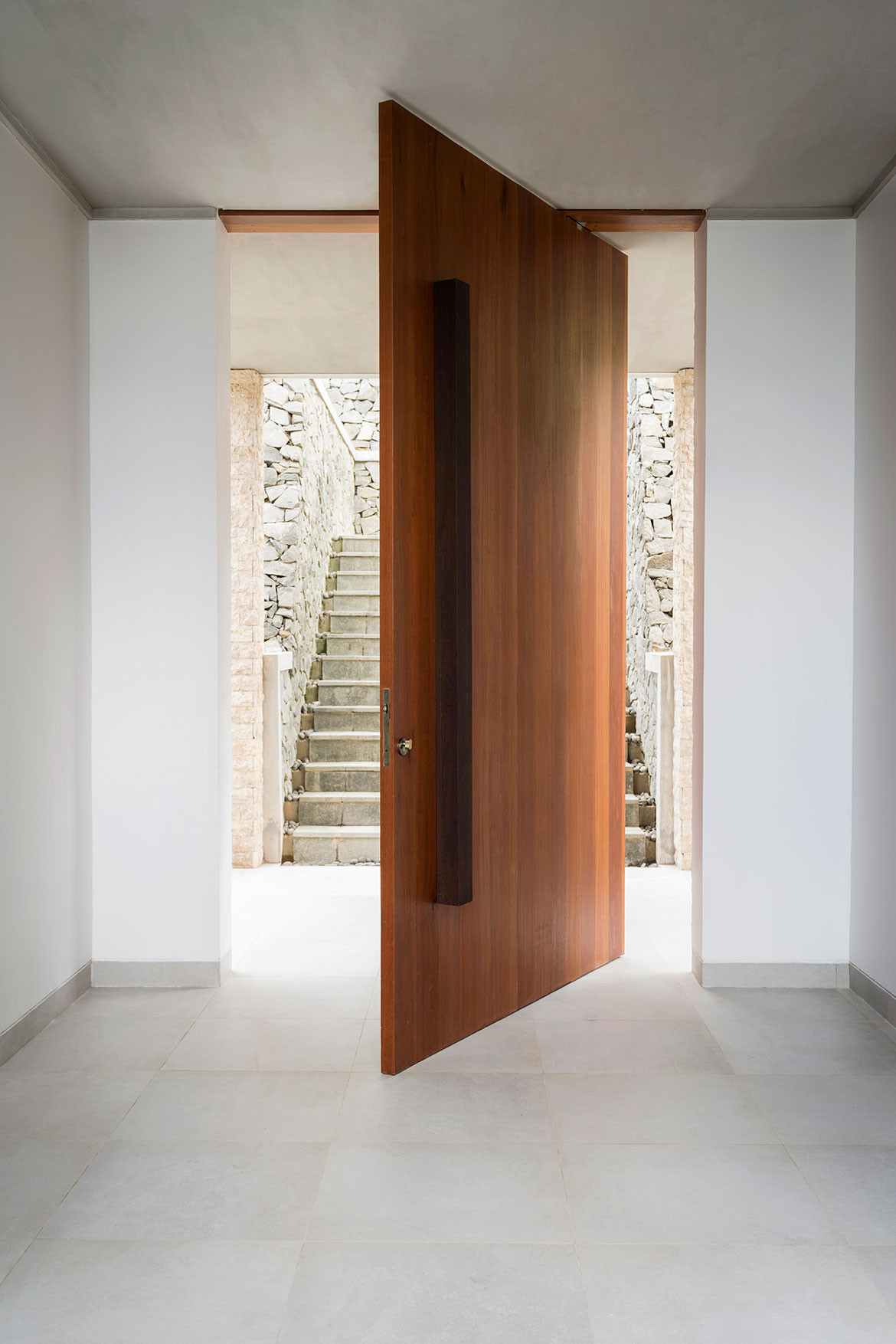 Maleo Residence Mitchel Squires Associates doorway