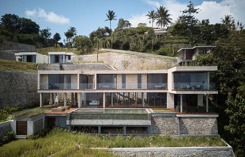 Maleo Residence Mitchel Squires Associates exterior