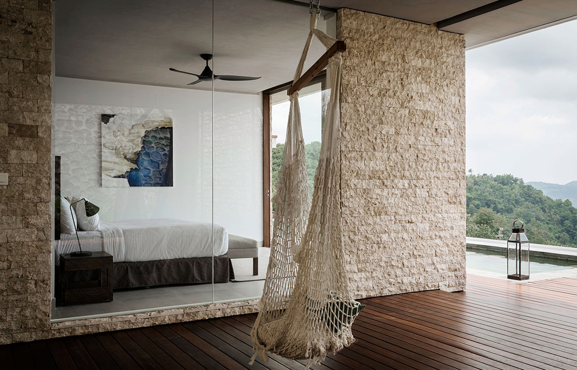 Maleo Residence Mitchel Squires Associates master bedroom views