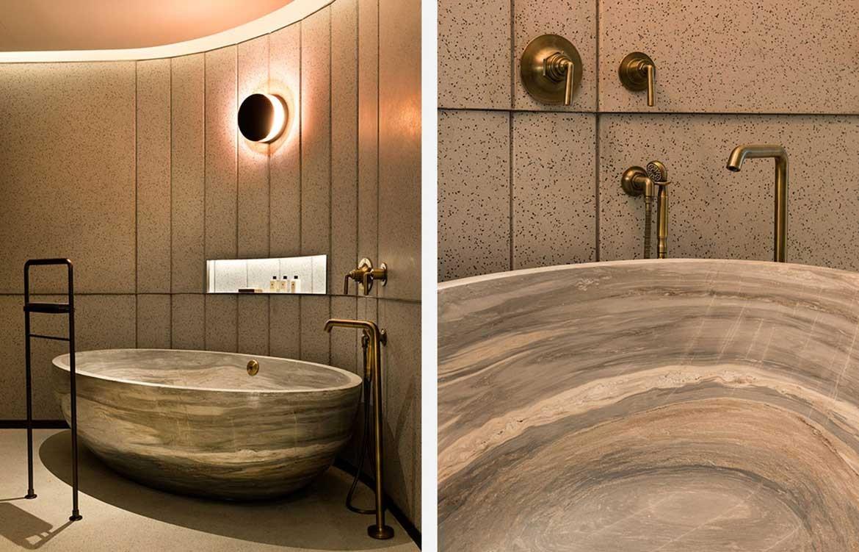 Mandarin Oriental Joyce Wang bath tub