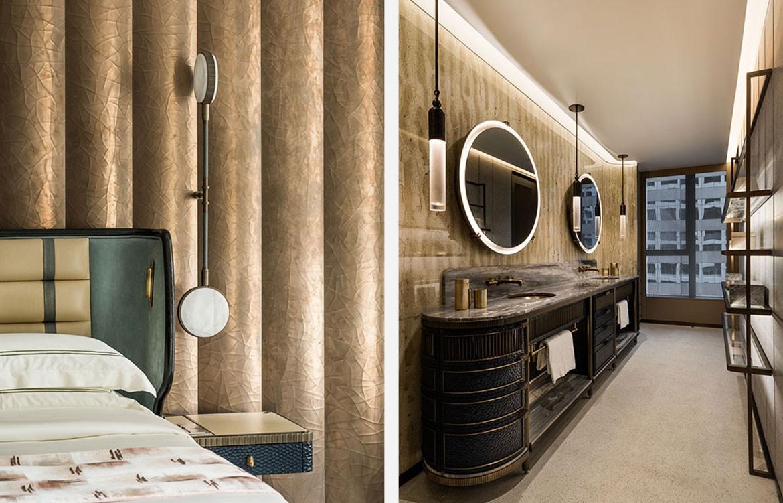 Mandarin Oriental Joyce Wang bathroom