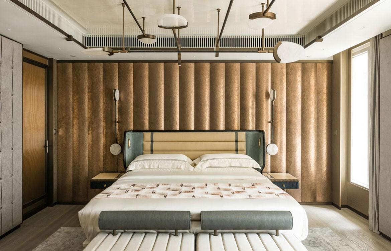 Mandarin Oriental Joyce Wang ensuite master bedroom