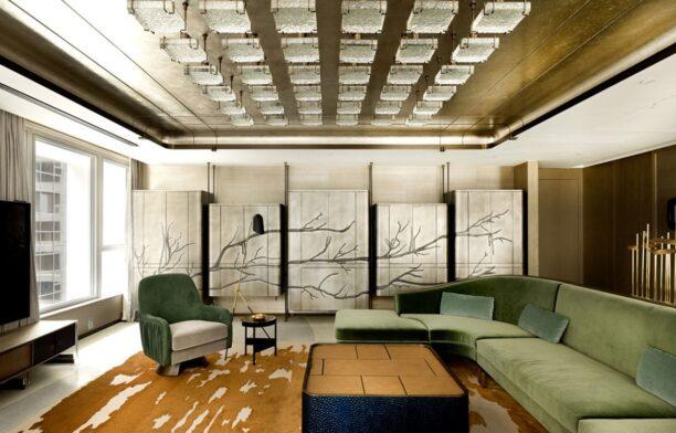 Mandarin Oriental Joyce Wang lounge