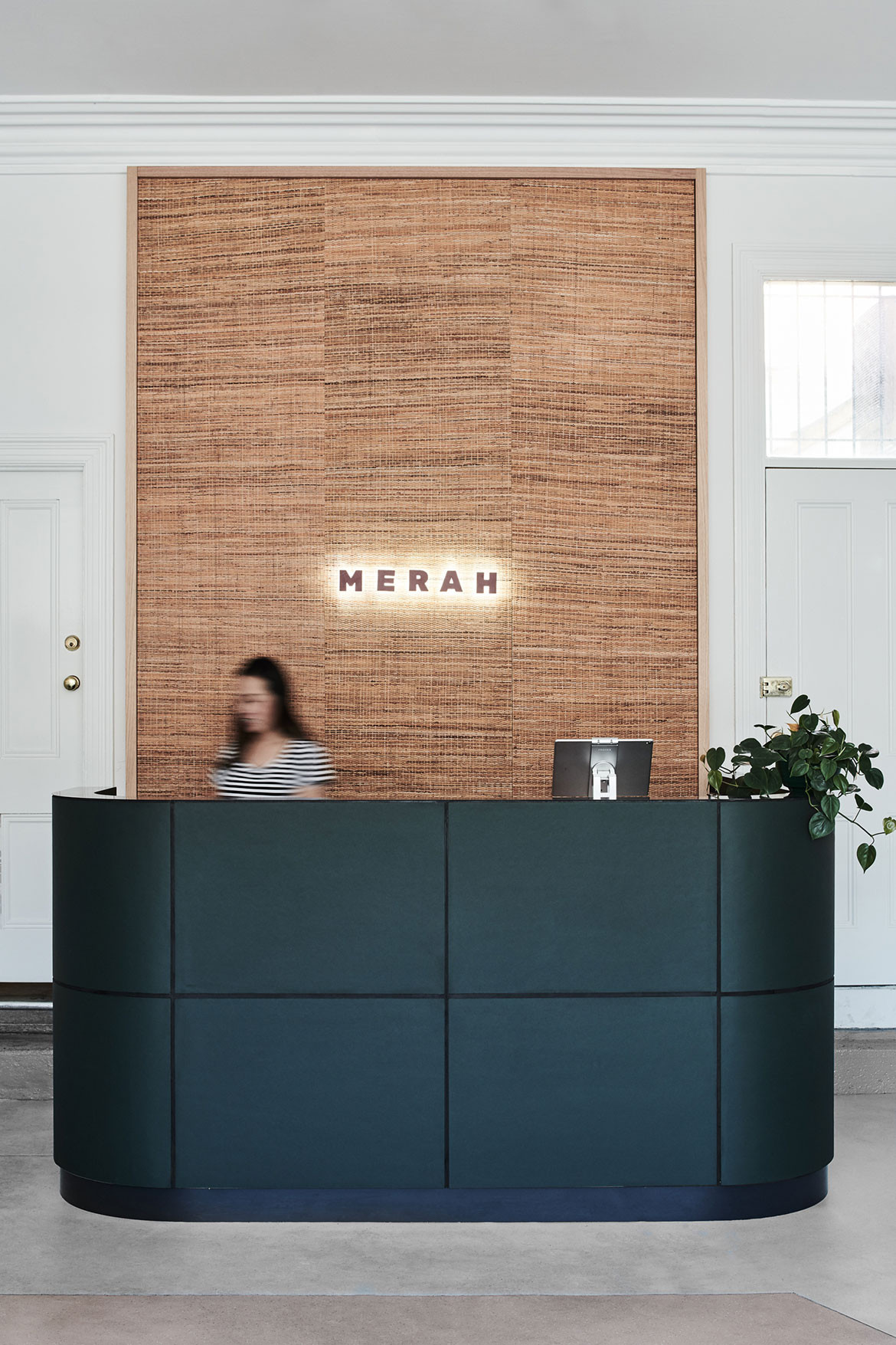 Merah One Design Office cc Tom Blachford entrance