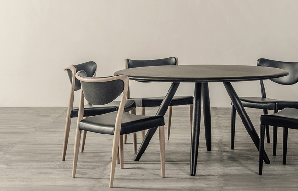 Minimalist furniture design dining chair