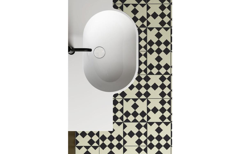 Mode Basin Bathroom Interior