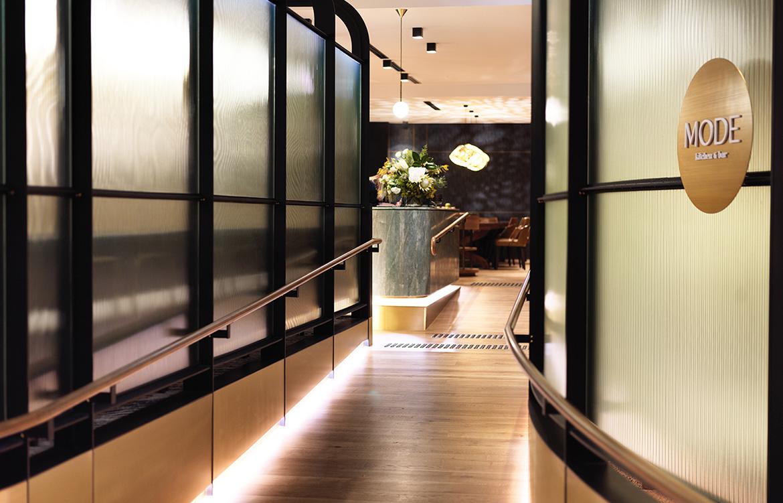 Mode Kitchen Bar entrance