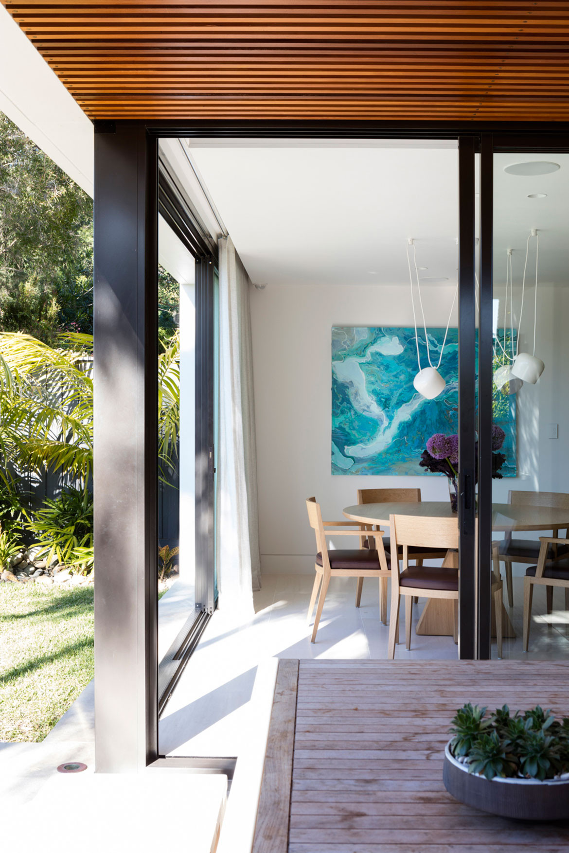 Mosman House Daniel Boddam Architects cc Brett Boardman indoor outdoor
