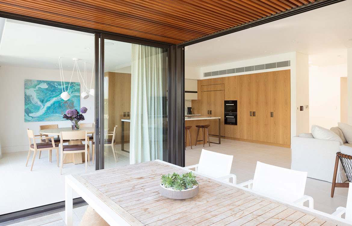 Mosman House Daniel Boddam Architects cc Brett Boardman open plan
