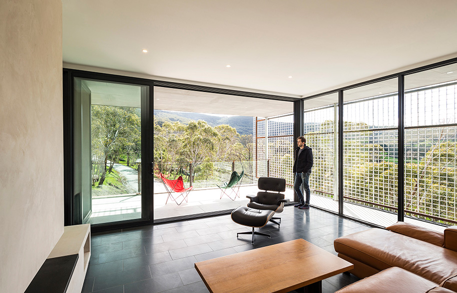 Mt Macedon Field Office Architecture