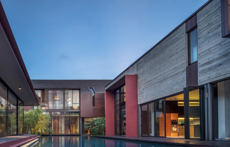 Multi-Generational House Photography by Masano Kawana Main pavilion