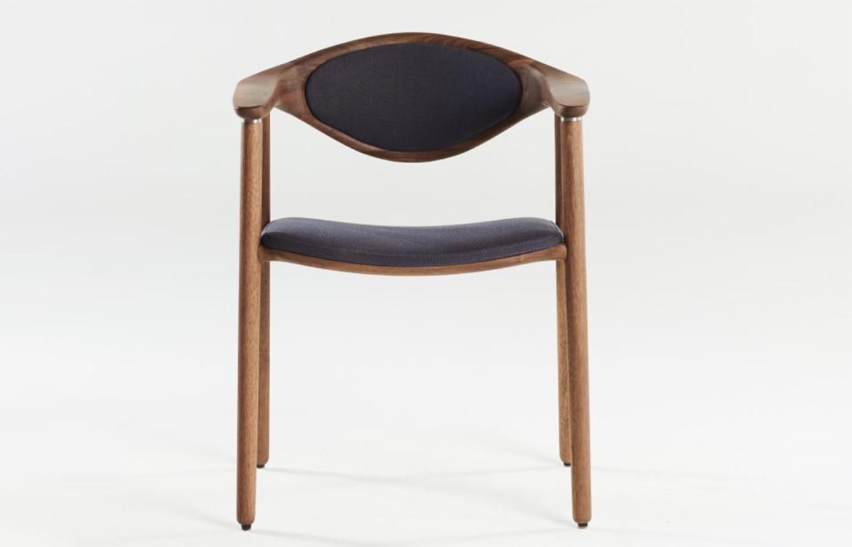 Naru Chair Dark Material