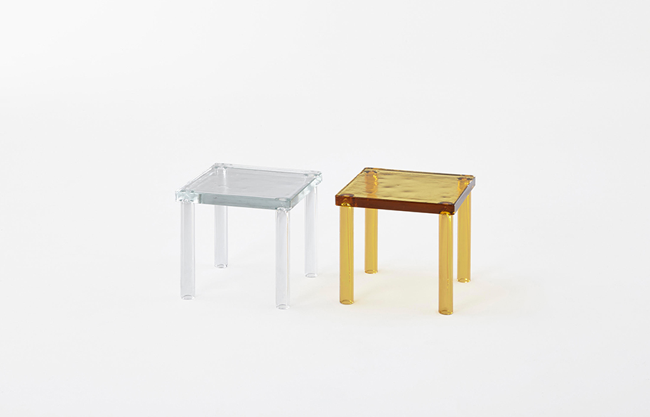 Nesting Tables by Ronan & Erwan Bouroullec for Glas Italia