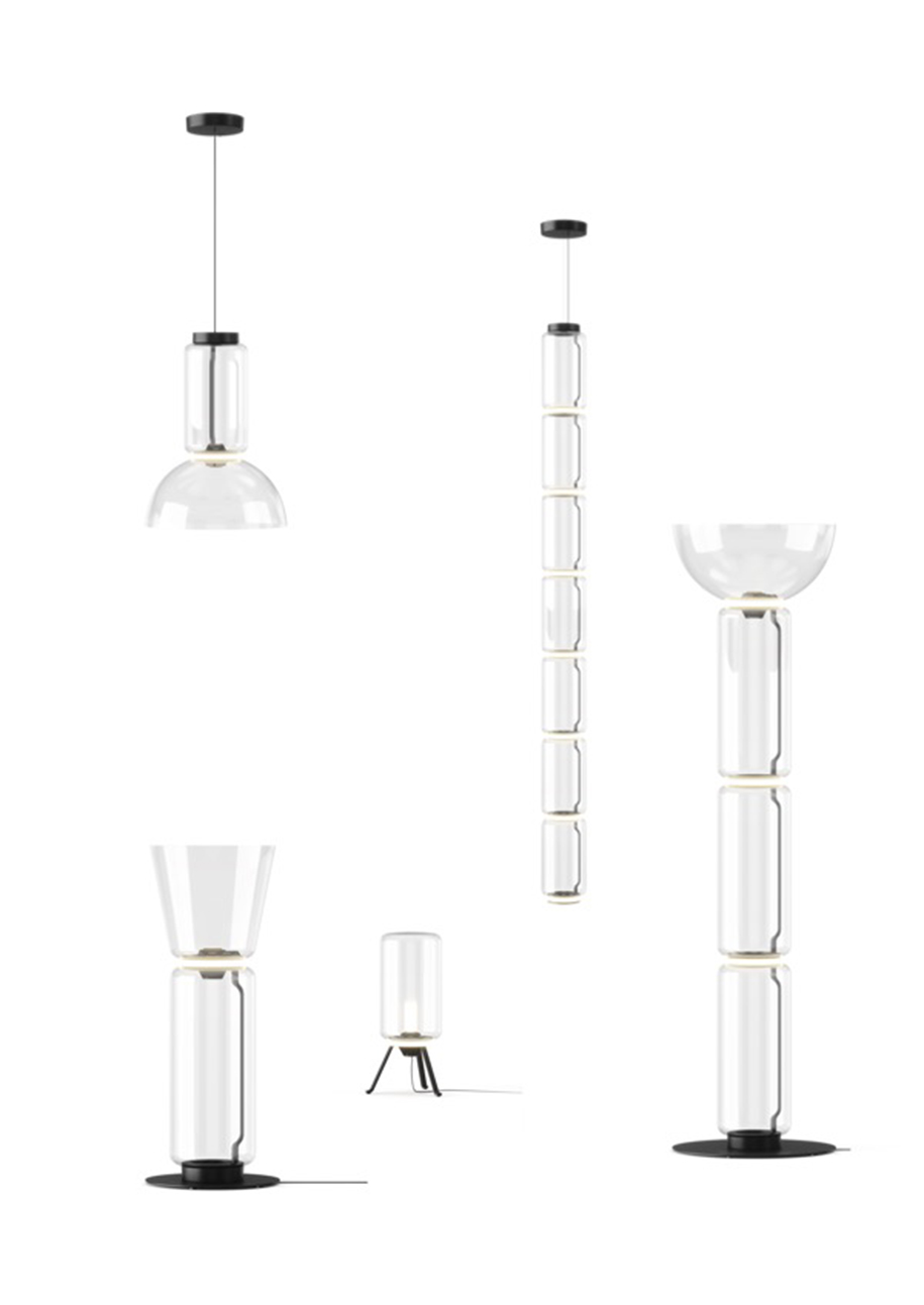 Noctambule lighting by Konstantin Grcic for Flos